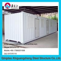 Steel shipping container living house