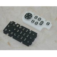 Quality Custom Remote Control Silicone Rubber Keypad OEM / ODM With Squre Shape Buttom for sale