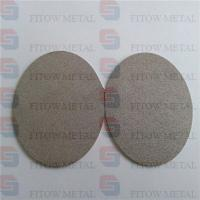 Quality 316l Stainless Steel Sintered Metal Powder Disc Filter for sale