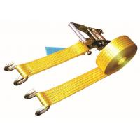 Quality Open Hook Over The Wheel Tie Down Straps , Commercial Tie Down Straps 2500 DN LC for sale