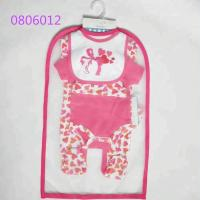 China 100% Cotton Baby Girl Clothing Sets Baby Gift Set 5pcs For 0 - 9 M Baby on sale