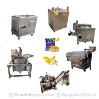 Quality Automatic Processing Line Machine Philippine Banana Chips Making Plant for sale
