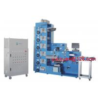 Quality IR UV Flexo Sticker Label Printing Machine With Die Cutting And Slitting for sale