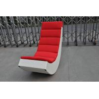 Quality Rattan Rocking Chair , Aluminum Frame Comfortable Rocking Sofa for sale