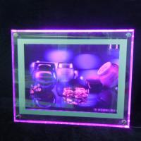 Quality Clear Wall Acrylic Led Light Box Sign Board Acrylic Advertising Light Box for sale
