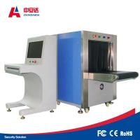 Quality Double Vision Angles X Ray Baggage Scanner , Bag Scanning Machine With Protective Cover for sale