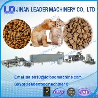 Quality 304 stainless steel dry dog/fish/cat pet food processing machine for sale