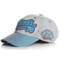 Fashion teared and washed baseball cap with 3D embroidery patch