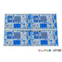 China Blue Solder Automotive FR4 PCB Board For Car GPS Navigation Display Main Board on sale