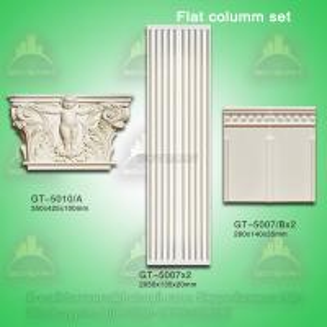Quality Good Quality Polyurehtane Plane Roman Pillar for Decoration for sale