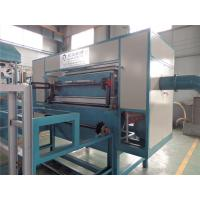 China Rotary Paper Egg Box Pulp Molding Machine , Food Packaging Containers Machinery on sale