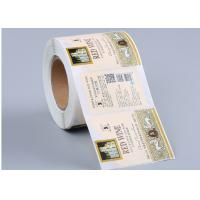 Quality Printed Reflective Custom Label Stickers For High Speed Automatic Machine for sale