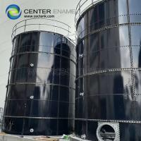 Quality Glass - Fused - To - Steel Commercial Industrial Water Tanks Corrosion Resistance for sale