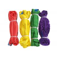 Quality Anti Abrasion Polyester Lifting Sling 6T/5T/4T/3T/2T/1T With Easy Rigging And Storage for sale