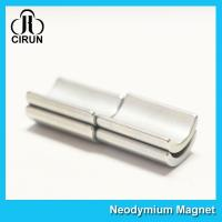 Quality Industrial Arc Neodymium Motor Magnets Super Strong N45SH High Permanence for sale