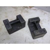 2017 New Product Wholesale TWO 30# Cast Iron R & S Scale Test Weight Blocks with Hand Grips