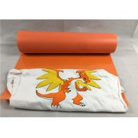 China Sportswear Flocked Vinyl Sheets With Superior Anti - Counterfeiting Function on sale