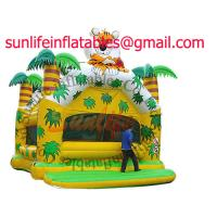 Quality inflatable 0.55mm pvc tarpaulin jumping castle BO038 for sale