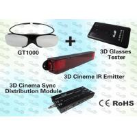 Quality Polarised 3D Computer Glasses and Emitter for Education  for sale