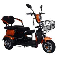 Quality 60 Voltages 32Ah Battery 800W Three Wheel Electric Scooter for sale