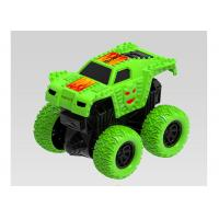 China Mini Pull Back Monster Trucks Children's Play Toys Friction Vehicle Big Wheels on sale