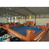 China Inflatable Bull Ring 10 X 10m , Blow Up / Inflatable Sports Arena Bounce House on sale