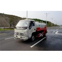 Quality Powerful FOTON 4x2 Water Sprinkler Truck , 530 Gallon Diesel Water Container Truck for sale