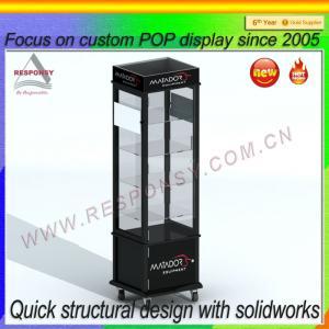 Quality POP acrylic acrylic body jewelry display/ acrylic jewelry display case for sale