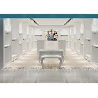 China White Color Baby Clothing Store Fixtures With Pre - Assembly Structure on sale