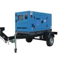 Quality Water Cooled Mobile Diesel Generator 50KW / 62.5KVA With Cummins Diesel Engine for sale
