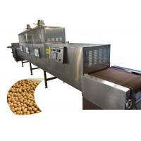 Quality Soybean Food Sterilization Equipment Microwave Drying Sterilization Machine Easy Controlled for sale