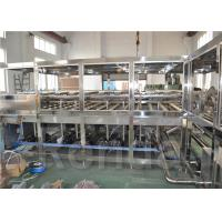Quality 5 Gallon Mineral Water Barrel Filling Machine , Water Filler Equipment ISO CE for sale