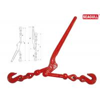 Quality Drop Forged Lever Type Load Binders 1/2 - 5/8 Chain Size Lifting Chain Hooks for sale