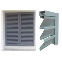 Quality Vision Screen Sight Proof Ventilation Aluminium Louvre Windows For Residential for sale