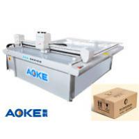 China DCZ50 corrugated cardboard carton box sample maker flatbed cutter table machine on sale