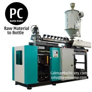 Quality 5 Gallons Polycarbonate Bottle Blow Molding 3 Gallon PC Bottle Making Machine for sale