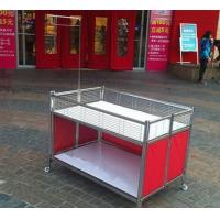 Quality Collapsible Garment Shop Promotional Desk / Retail Clothes Display Table For Store for sale