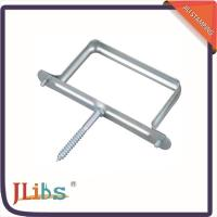Hydraulic Tube Clamp Support For Vertical Pipe , Square Pipe
