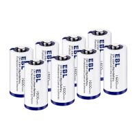 Quality EBL 4 Pack CR123A 3V Lithium Primary Cell Battery 1600mah Eco Friendly for sale