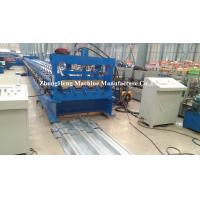 Quality Excellent Floor Deck Roll Forming Machine , sheet metal forming equipment 1.5mm galvanized steel for sale