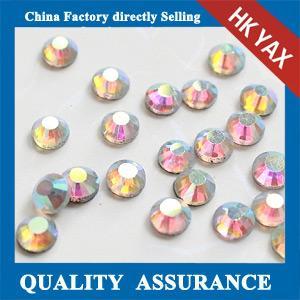 Quality High Quality Crystal AB SS20 DMC Hotfix Rhinestone Shiny Colors Wholesale Hotfix DMC Rhinestone for sale