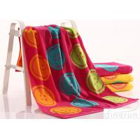 Quality Woven Dye Yarn Organic Cotton Bath Towels Colorful OEM Available for sale