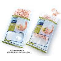 Quality Custom printed Seafood shrimp Vacuum Packaging bag for Frozen Storage for sale