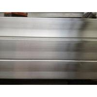Quality 201 304 Stainless Steel Square Pipe / Tube with NO.4 Surface and PVC for sale