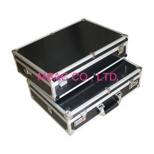 China Aluminum Lockable Metal Briefcase , Wear Resistant Aluminium Attache Case on sale
