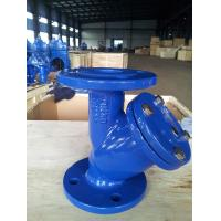 Quality DIN3202 Cast Iron Flanged Y Strainer SS304 SS316 Screen Unique Design for sale