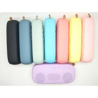 Quality Best Selling 6W Rubber Oli Waterproof Portable Bluetooth Speaker with FM/USB/TF card for sale