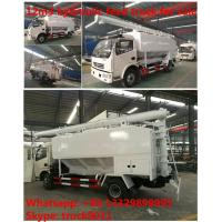 Quality 2019s dongfeng 12m3 livestock and farm-oriented feed transported truck for sale, wholesale best price bulk feed truck for sale