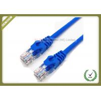 Quality RJ45 Cat6 U/UTP Patch Network Fiber Cable 1.8M 23AWG 0.56mm Copper Pass Test for sale