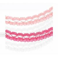 Quality Handmade Party Paper Garland Craft 3.6m Tassel Garland Solid Color And Mixed Color for sale